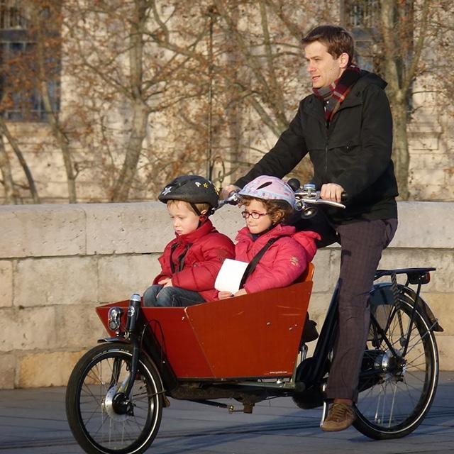 Témoignage d'utilisateurs de vélo-cargo