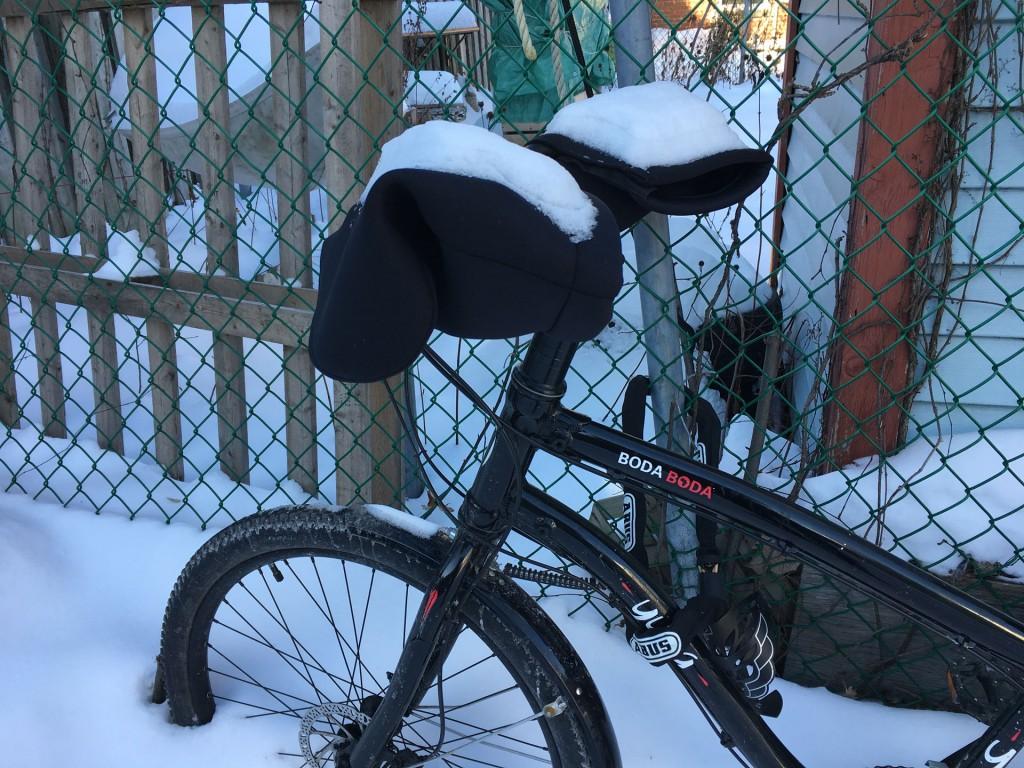 combattre le froid en vélo d'hiver