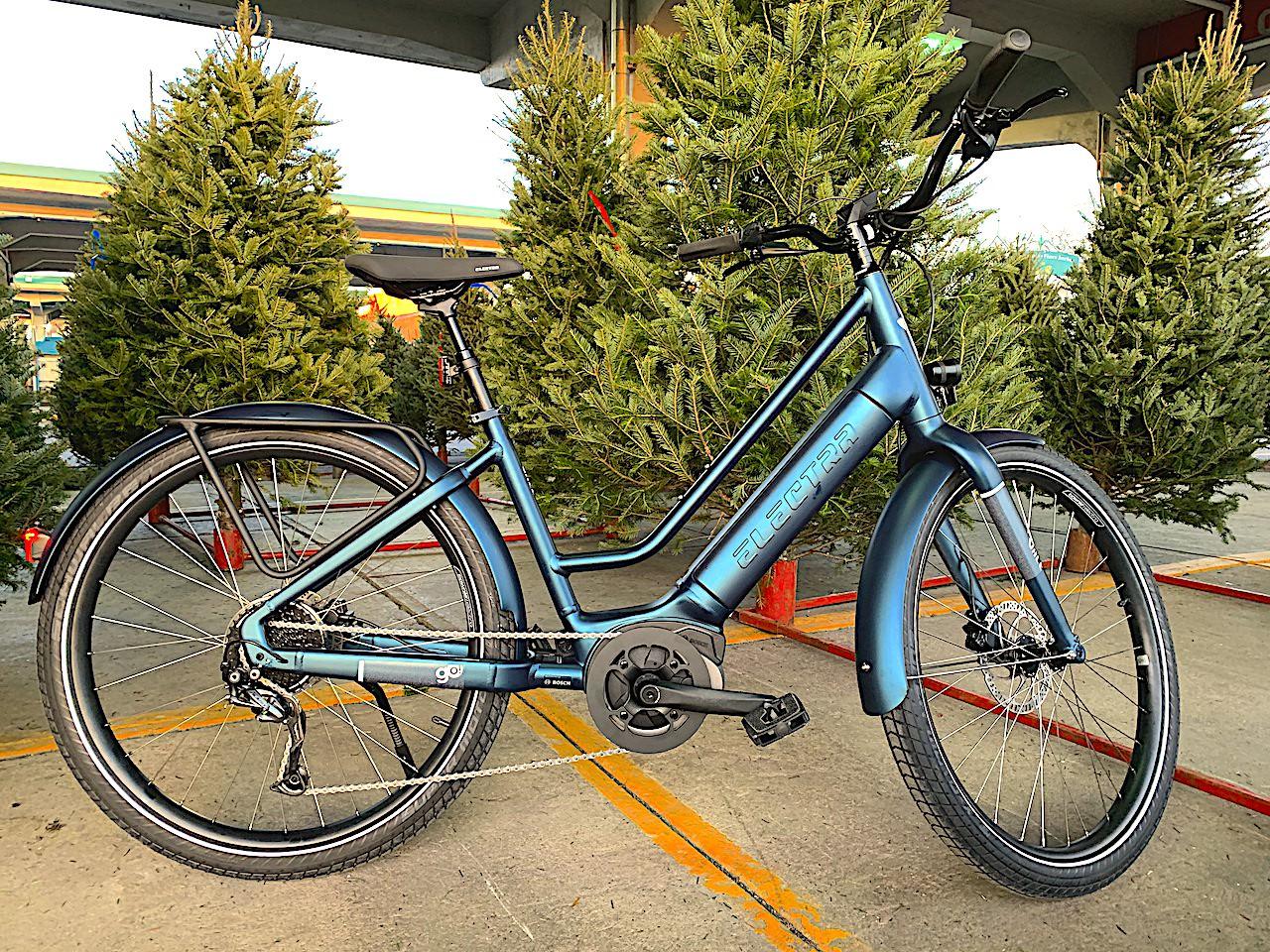 Un vélo électrique pour l'hiver, c'est génial