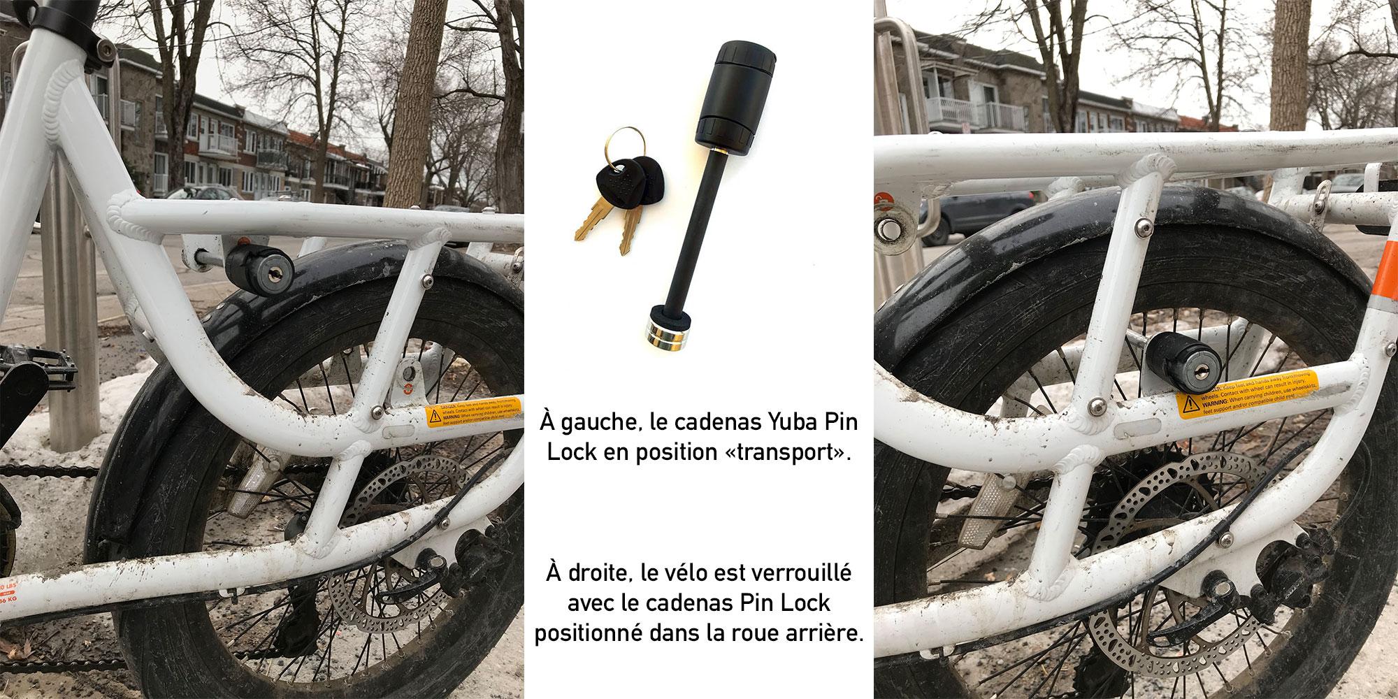 Yuba Pin Lock