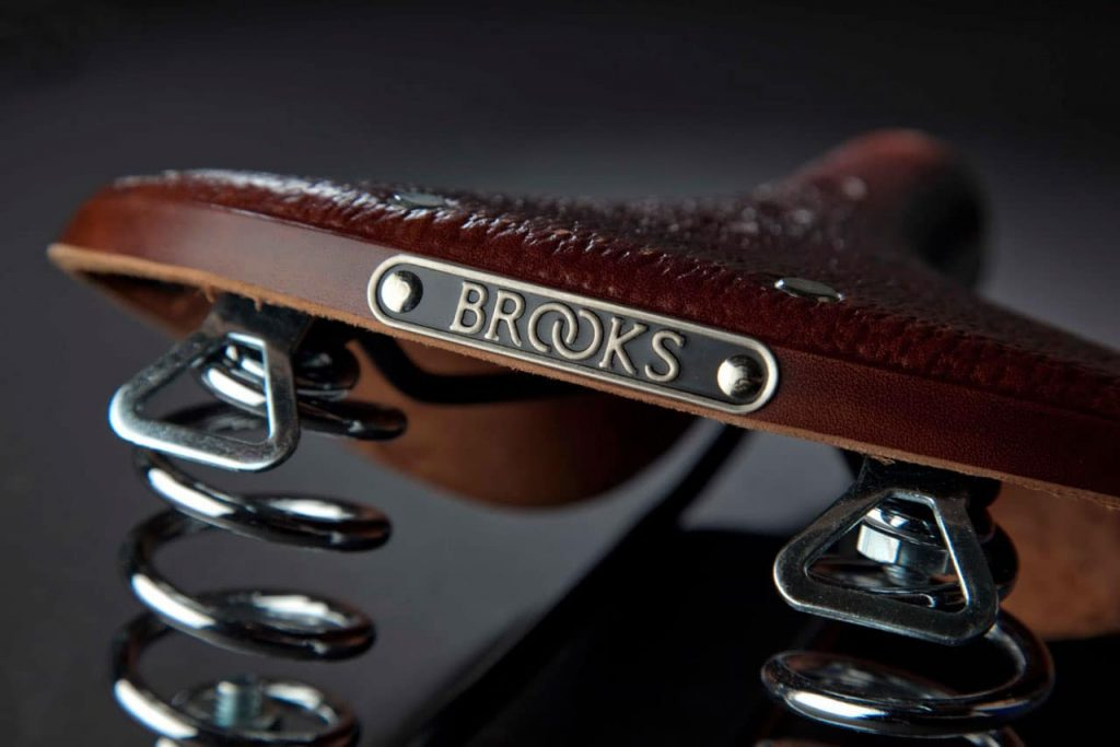 Brooks. A history etched in leather